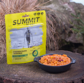 Summit to Eat Chicken Fajita with Rice - Maaltijd