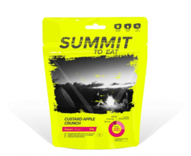 Summit to Eat Custard Apple Crunch - Dessert