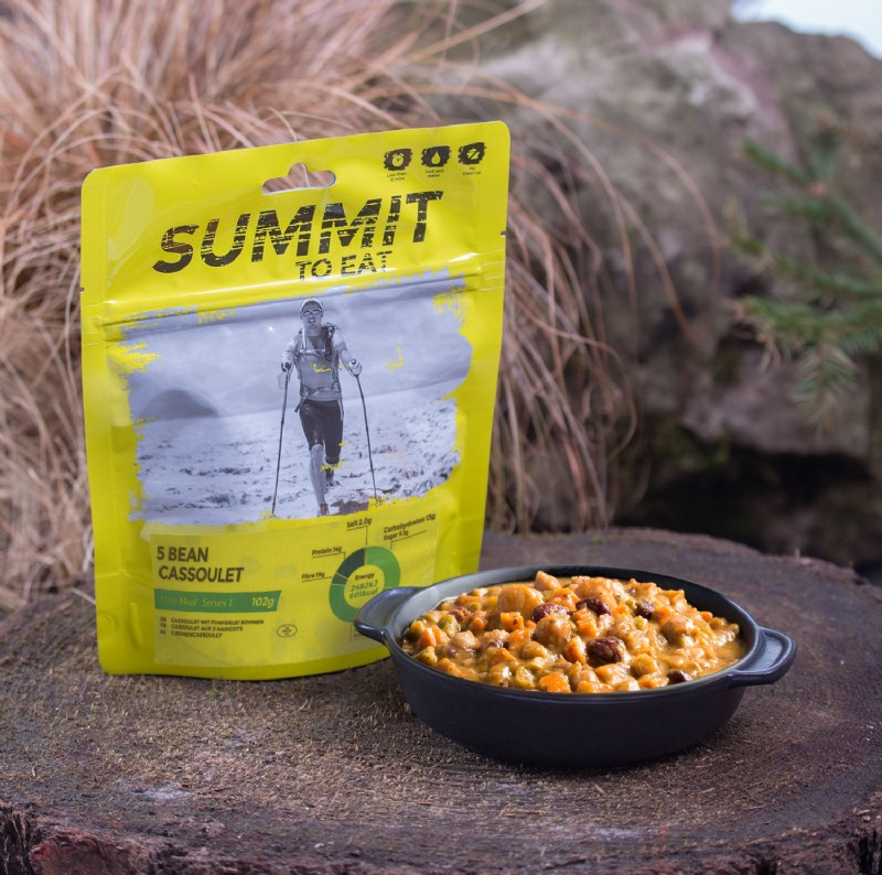 Summit to Eat 5 Bean Cassoulet - Maaltijd