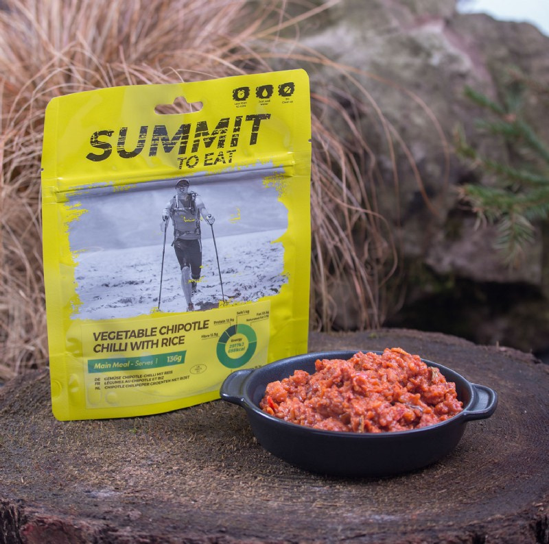 Summit to Eat Vegetable Chipotle Chilli with Rice - Maaltijd