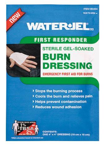 Water-Jel  Burn Dressing 10x10cm