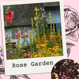 Rose Garden - groene/zwarte thee mix