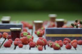 Trio de confiture riche en fruits - 3*40 gr