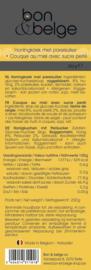 Belgische honingkoek met parelsuiker, voorgesneden schijfjes, artisanaal bereid, 250 g
