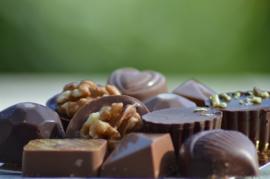 bon & belge - Ballotin de chocolats fins et artisanaux pauvre en sucre - réalisé par un Maître chocolatier belge - 220 g