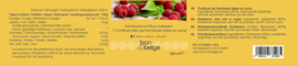 Belgische artisanale suikerarme confituur van framboos  - 200 g