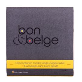 Guimauves artisanale d'un maître chocolatier belge - à teneur réduite en sucre - 112 g