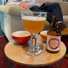 Bière aux Fraises - bière artisanale belge - fruité - 6,5 % vol (33 cl)