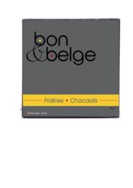 Ballotin de chocolats fins et artisanaux - réalisé par un Maître chocolatier belge - 250 g
