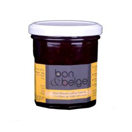 Belgische artisanale suikerarme confituur van braambes - 200 g