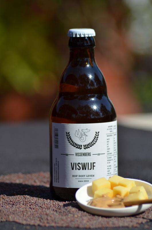 Viswijf - Belgisch artisanaal koperblond bier - 7,5% vol (33 cl)