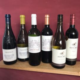Wijnselectie (6 flessen)