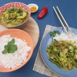 Curry van jackfruit (vanaf 2 pers)