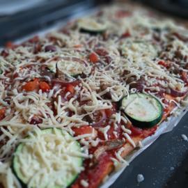 Maaltijdbox | Pizza Oesterzwampi (4 pers)