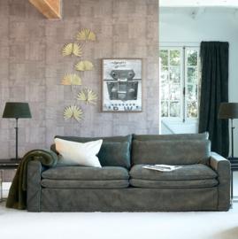 Lovely Rib Velvet Lampshade Green 35 x 45