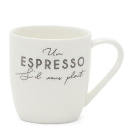 S'il vous plait Espresso Mug