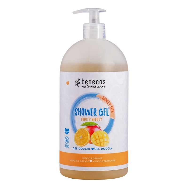 Benecos Natural Shower Gel FAMILY SIZE Fruity Beauty 950 ml