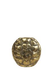 Vaas deco 29,5x8x30 cm TURTLE antiek brons