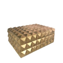 Box Studs goud M 20x15x8 cm (CS1002)