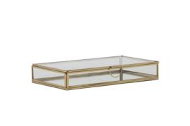 Deco box 25x14x4 cm ALESSINA goud (LL1006)