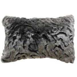 Heirloom cushion 35 x 45 cm Pewter Chinchilla