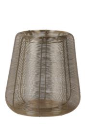 Windlicht Ø28x29 cm ADETA goud+glas (LL1013)