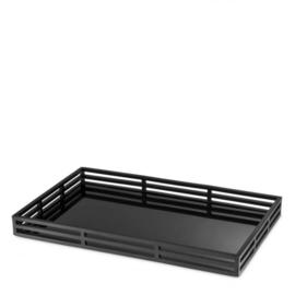 Eichholtz dienblad Giacomo black Finish 56x35x5cm (EIC1002)