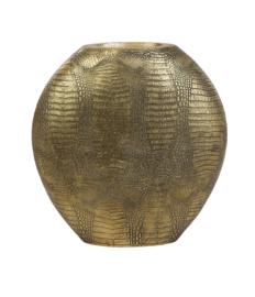 Vaas Deco Skeld 39x11x40cm antiek brons (LL1019)
