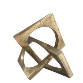 Schakel object goud 20x23x20 cm (CS1001)