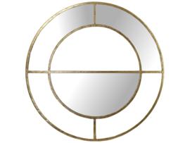 Mirror Gold  rond (VK1005)