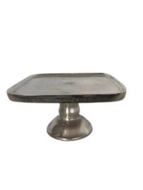Aluminum cake plateau 13x23x23 RVS (EZ1004)