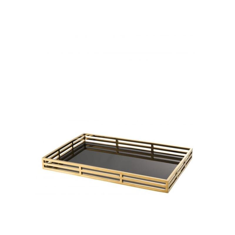 Eichholtz dienblad Giacomo Gold Finish 56x35x5cm (EIC1001)