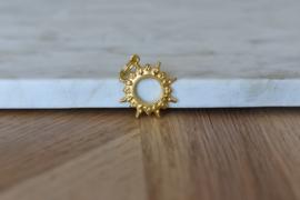 Boho Flower Gold