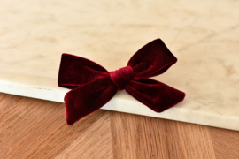 Hair Bow Red