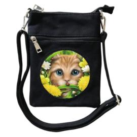 Crossbody Tas 3D - Summer Cat