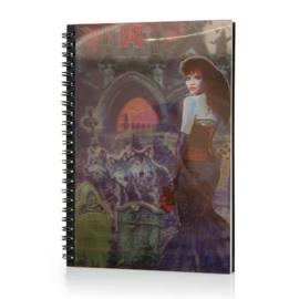 Spiraal Notitieboek 3D - Dark Bride