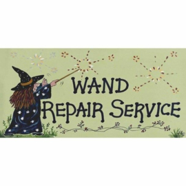 Smiley Sign - Wand Repair Service