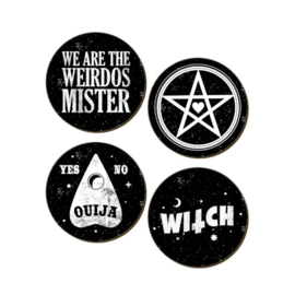 Onderzetters - We Are The Weirdos Mister