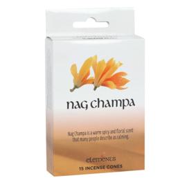 Wierook Kegels - Nag Champa