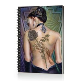 Spiraal Notitieboek 3D - Rose De Folis