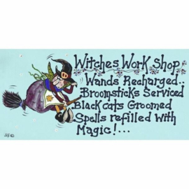 Smiley Sign - Witches Work Shop