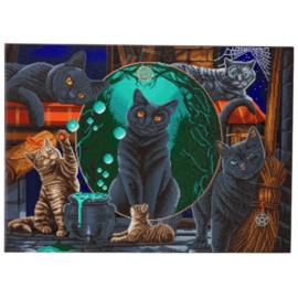 Diamond Painting - Magical Cats
