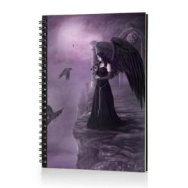 Spiraal Notitieboek 3D - Violet Dreams
