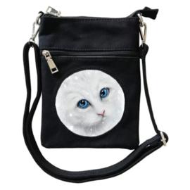 Crossbody Tas 3D - Winter Cat