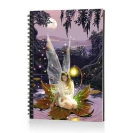 Spiraal Notitieboek 3D - Fairy Princess