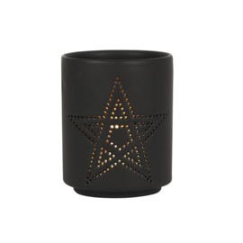 Waxinelichthouder - Pentagram