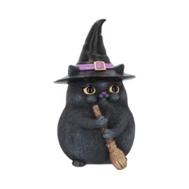 Beeld - Lucky Black Cat 12cm