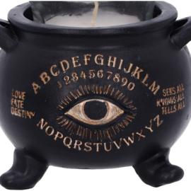 Waxinehouder - All Seeing Cauldron