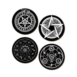 Onderzetters - Pentagram