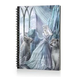 Spiraal Notitieboek 3D - The Snow Queen